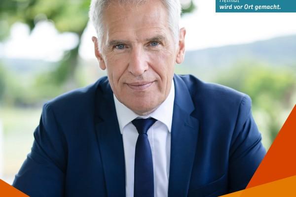 Mit Bürgermeister Heinrich Göbbels im Gespräch